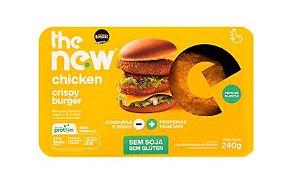 Chicken Crispy Burger 240g - The New