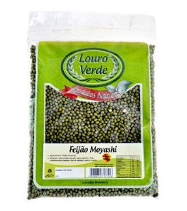 Feijão Moyashi 500g - Louro Verde