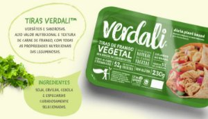 Tiras de Frango Vegetal 230g - Verdali