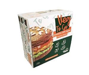 Lanche Pronto Vegano Veg To Go 200g - Tensei
