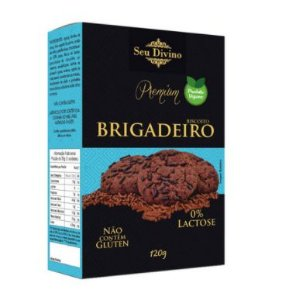 Biscoito Vegano Sem Glúten 120g - Seu Divino