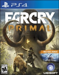 FAR CRY PRIMAL SONY PS4