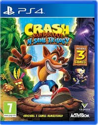 CRASH N' SANE TRILOGY PS4