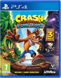 CRASH N' SANE TRILOGY PS4