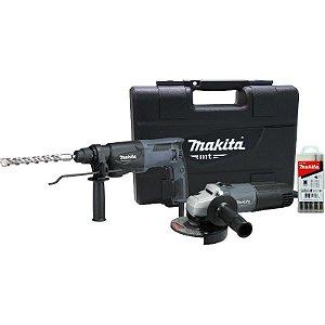 Kit Combo de Ferramentas Makita MTK0001GX1 - M8700G + M0901G