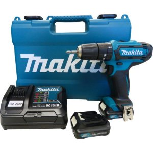 Parafusadeira Furadeira de Impacto à Bateria Makita HP331DSAE