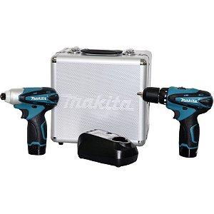 Combo de Ferramentas Makita LCT204 - DF330DZ + TD090DZ