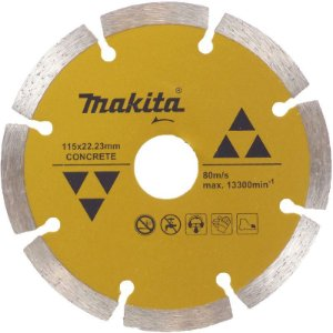 Disco de Corte Segmentado Diamantado Makita para Concreto 115mm