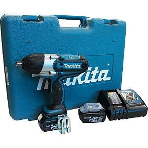 Chave de Impacto à Bateria Makita DTW450RFE