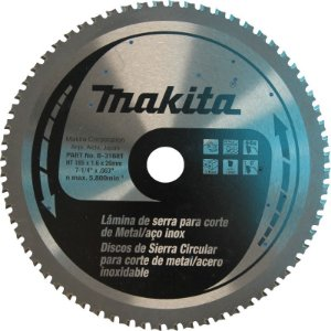 Lâmina de Serra para Metal Makita 185 x 20mm