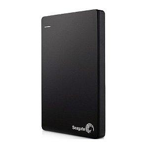HD Seagate Externo Portátil Backup Plus Slim USB 3.0 1TB Preto - STDR1000100