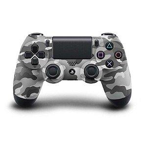 Controle sem Fio para Playstation 4 (PS4) camuflado cinza - Sony