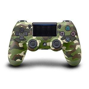 Controle sem Fio para Playstation 4 (PS4) Verde Camuflado - Sony
