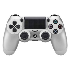 Controle sem Fio para Playstation 4 (PS4) silver- Sony