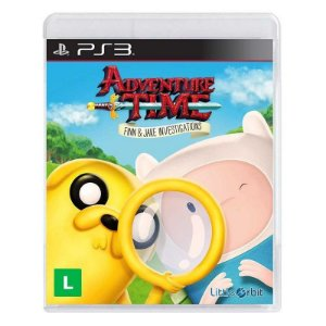 Jogo Adventure Time: As investigações de Finn e Jake para Playstation 3 (PS3) - Little Orbit