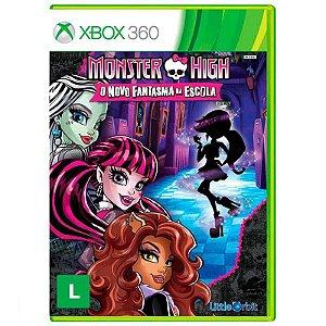 Jogo Monster High: O Novo Fantasma da Escola para Xbox 360 (X360) - Little Orbit