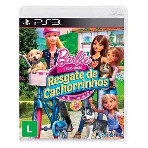 Jogo Barbie e suas irmãs: Resgate de Cachorrinhos para Playstation 3 (PS3) - Little Orbit