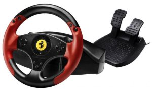 Volante Thrustmaster Ferrari Racing Edição Red Legend para PS3 e PC