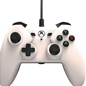 Controle com fio para Xbox One Branco - PowerA