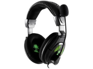 Headset X12 com Microfone para Xbox 360 e PC - Turtle Beach