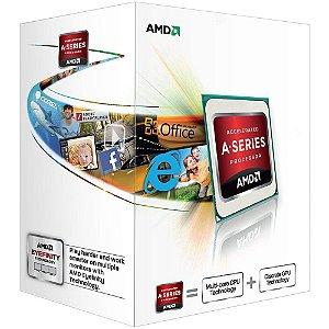 Processador AMD A4 4000 Richland, Dual-Core, Cache 1MB, 3.0GHz (3.2GHz Max Turbo) - AD4000OKHLBOX