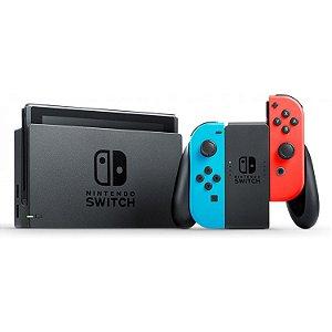 Console Nintendo Switch 32GB com Joy-Con Azul/Vermelho