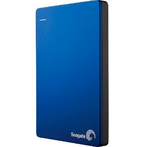 HD Seagate Externo Portátil Backup Plus Slim USB 3.0 1TB Azul - STDR1000102