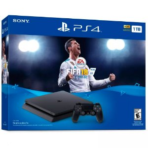 Console PlayStation 4 Slim 1TB com Fifa 18 - Sony