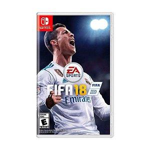 Jogo Fifa 18 (FIFA 2018) - Switch