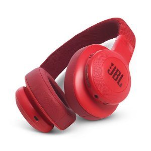 Headphone Over-Ear JBL E55BT Vermelho