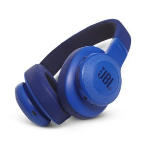 Fone de Ouvido Headphone Over-Ear JBL Bluetooth E55BT Azul