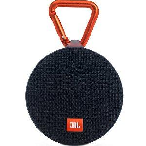 Caixa de som Bluetooth JBL A Prova d água 3W Clip 2 Preto