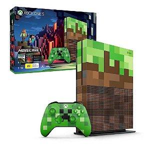 Console Xbox One S 1TB Edição Minecraft - Microsoft