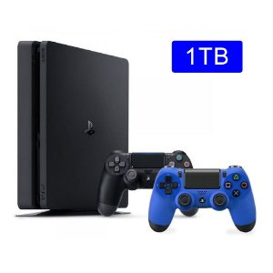 Console Playstation 4 Slim 1TB com 2 controles - Sony