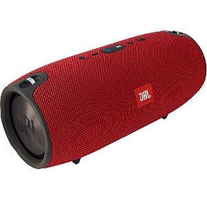 Caixa de som Bluetooth JBL A Prova de respingos de água 2x20W Xtreme Vermelha