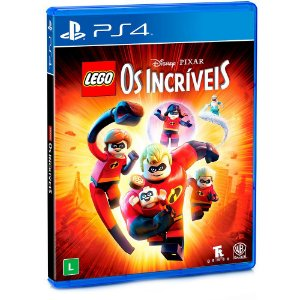 Jogo LEGO Os Incríveis - PS4 - PRÉ VENDA