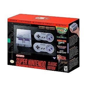 Console Super Nintendo SNES Classic Edition - Nintendo