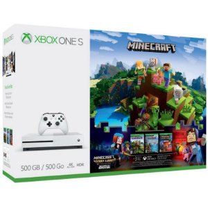 Console Xbox One S 500GB + Minecraft Story Mode The complete Adventure + Game Pass + Live Gold