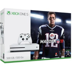 Console Xbox One S 500GB Bundle Jogo Madden NFL18