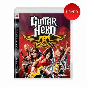 Jogo Guitar Hero: Aerosmith - PS3