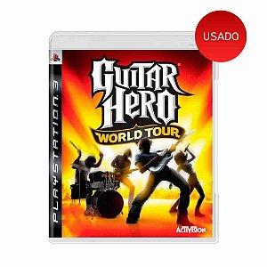 Jogo Guitar Hero World Tour - PS3