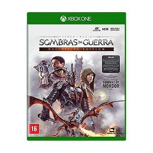 Jogo Terra-média: Sombras da Guerra (Definitive Edition) - Xbox One