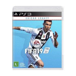 Jogo FIFA 19 (2019) - PS3