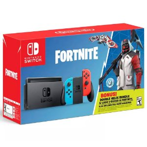 Console Nintendo Switch 32GB Colorido Fortnite Bundle