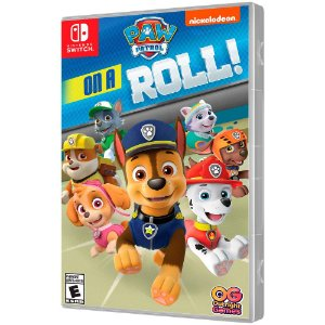 Jogo Patrulha Canina On a Roll - Switch