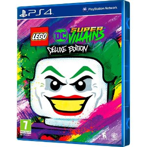 Jogo LEGO DC Super-Villains Deluxe Edition - PS4