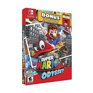 Jogo Super Mario Odyssey (Starter Pack) Traveler's Guide - Switch
