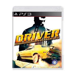 Jogo Driver San Francisco - PS3  (Usado)