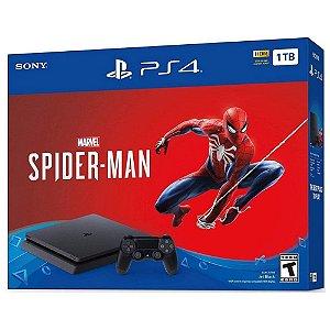 Console PlayStation 4 Slim 1TB com Spider Man - Sony