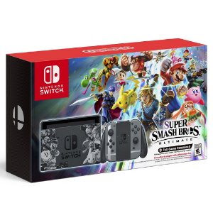 Console Nintendo Switch 32GB Super Smash Bros Ultimate